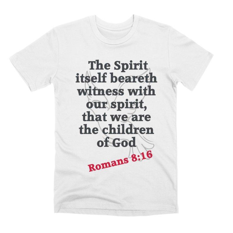 Spirit Witness Men's T-Shirt by theclearword's Artist Shop