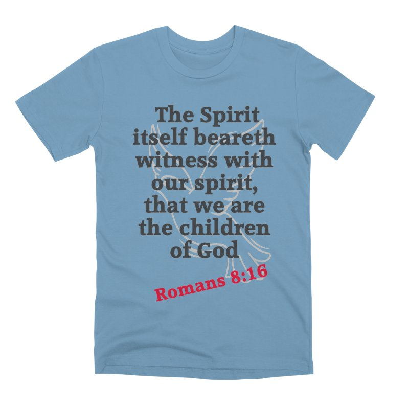 Spirit Witness Men's T-Shirt by theclearword's Artist Shop