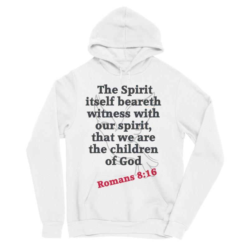 Spirit Witness Women's Sponge Fleece Pullover Hoody by theclearword's Artist Shop
