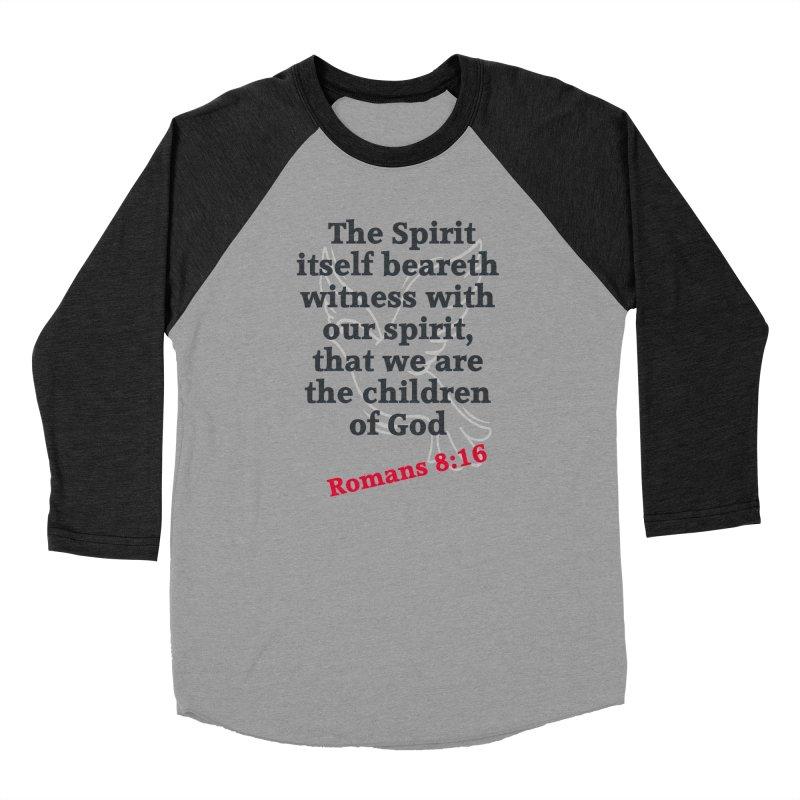 Spirit Witness Women's Longsleeve T-Shirt by theclearword's Artist Shop