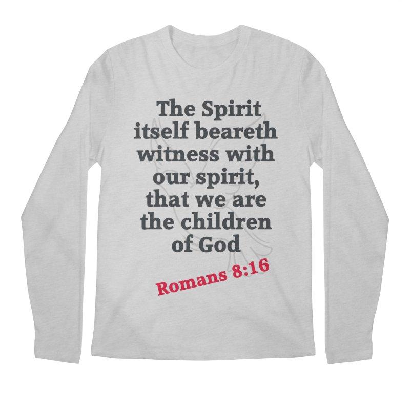 Spirit Witness Men's Regular Longsleeve T-Shirt by theclearword's Artist Shop