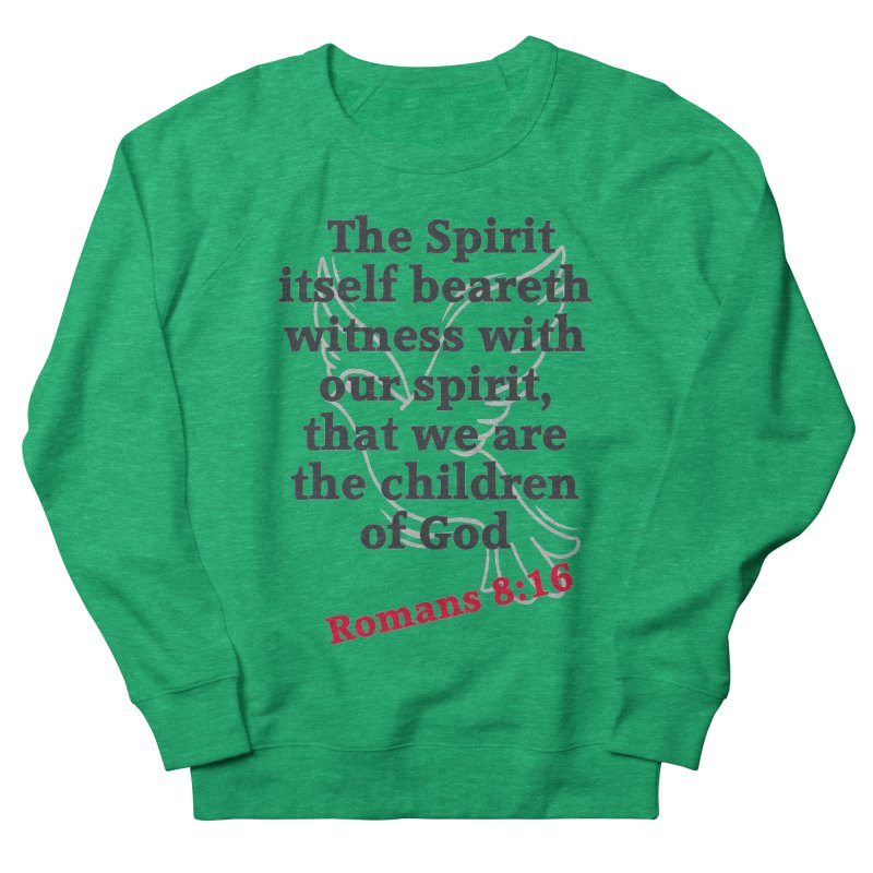 Spirit Witness Women's Sweatshirt by theclearword's Artist Shop