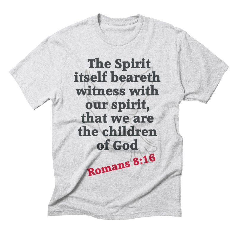 Spirit Witness Men's Triblend T-Shirt by theclearword's Artist Shop