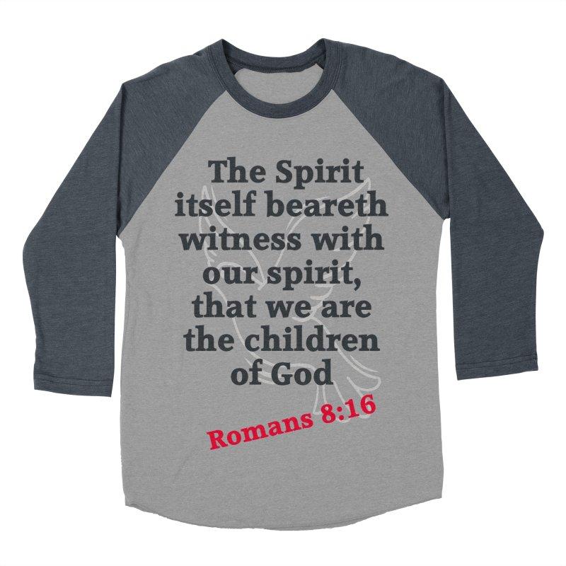 Spirit Witness Women's Baseball Triblend Longsleeve T-Shirt by theclearword's Artist Shop