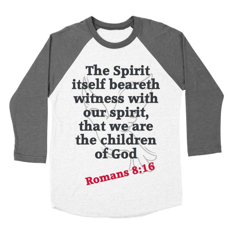 Spirit Witness Men's Baseball Triblend Longsleeve T-Shirt by theclearword's Artist Shop