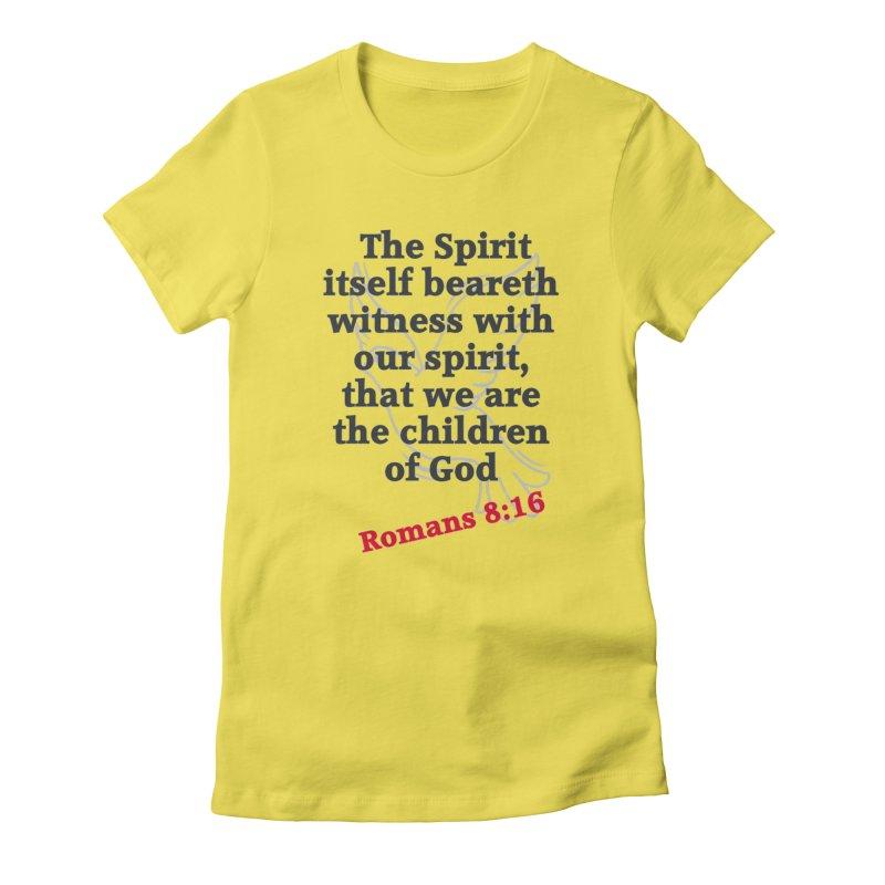 Spirit Witness Women's T-Shirt by theclearword's Artist Shop