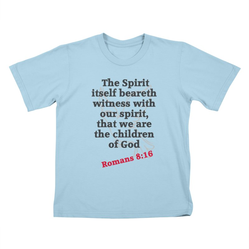 Spirit Witness Kids T-Shirt by theclearword's Artist Shop