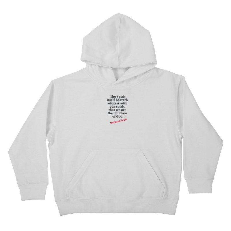 Spirit Witness Kids Pullover Hoody by theclearword's Artist Shop