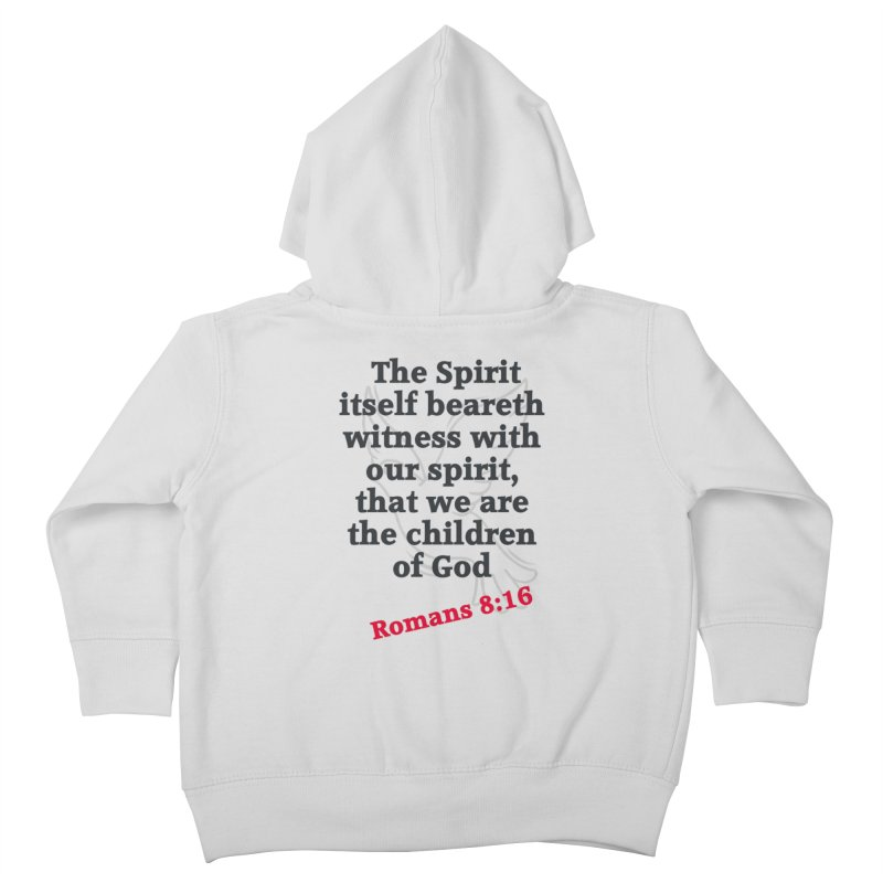 Spirit Witness Kids Toddler Zip-Up Hoody by theclearword's Artist Shop