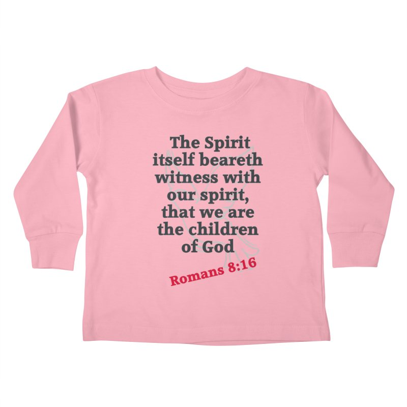 Spirit Witness Kids Toddler Longsleeve T-Shirt by theclearword's Artist Shop