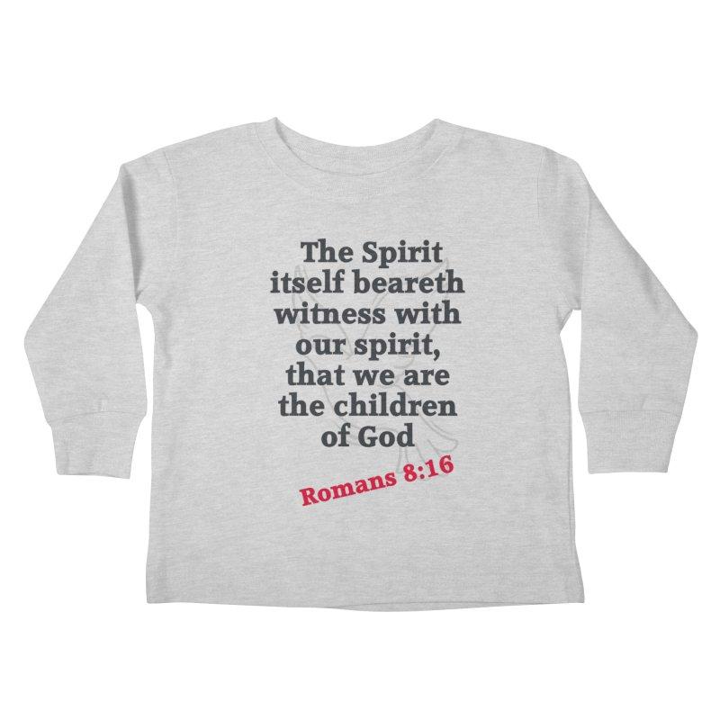 Spirit Witness Kids Toddler Longsleeve T-Shirt by theclearword's Artist Shop