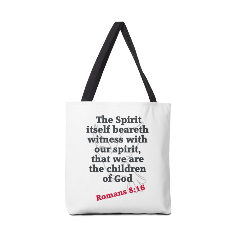 Spirit Witness Accessories Bag by theclearword's Artist Shop
