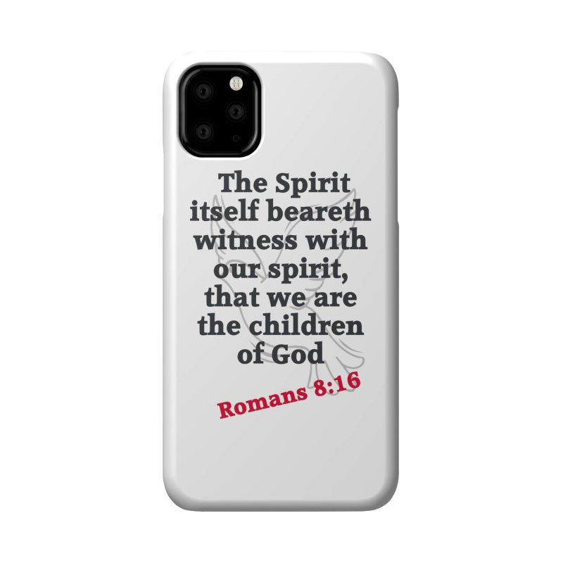 Spirit Witness Accessories Phone Case by theclearword's Artist Shop