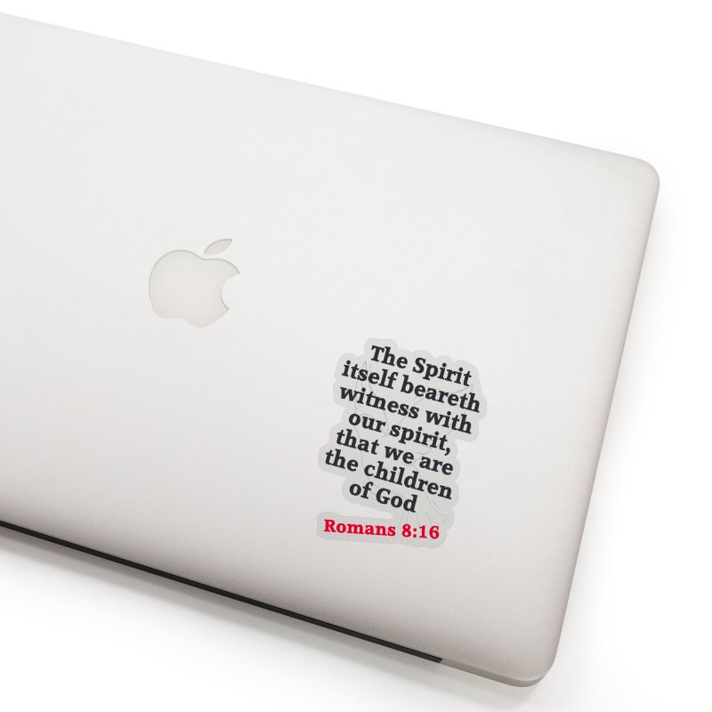 Spirit Witness Accessories Sticker by theclearword's Artist Shop