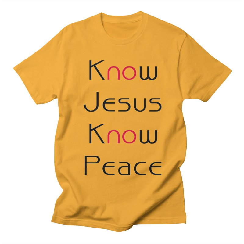 Know Jesus Women's T-Shirt by theclearword's Artist Shop