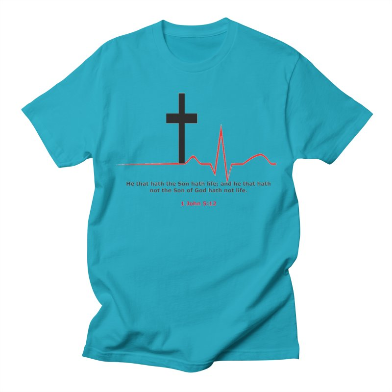 Hath Life Men's Regular T-Shirt by theclearword's Artist Shop