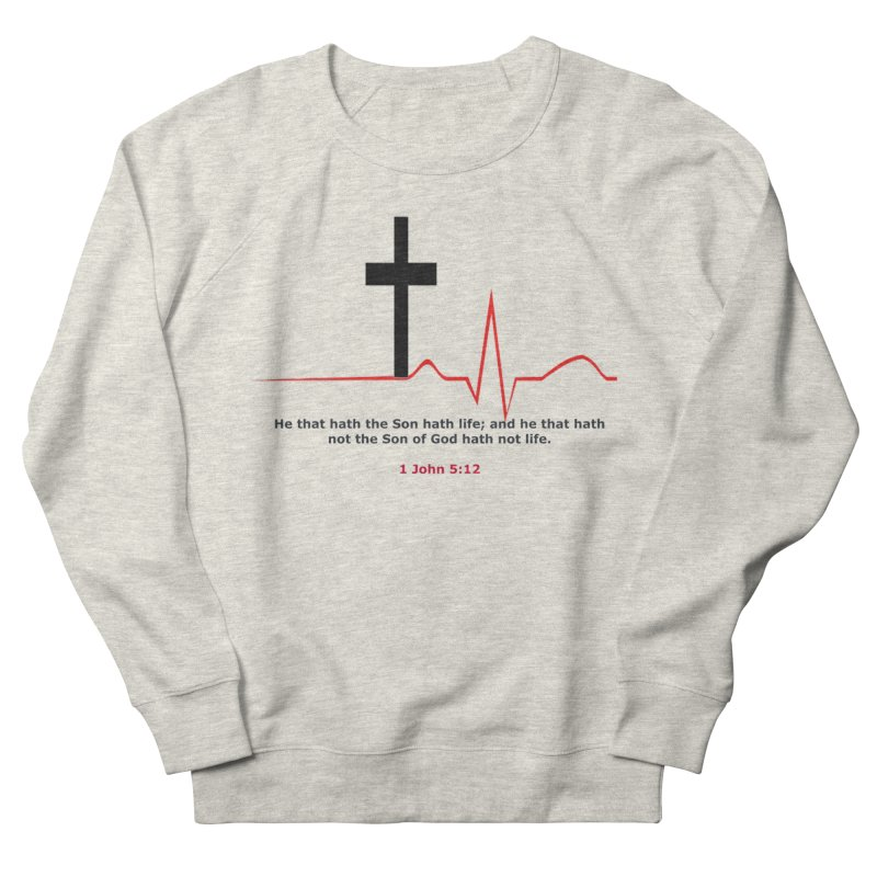 Hath Life Women's French Terry Sweatshirt by theclearword's Artist Shop