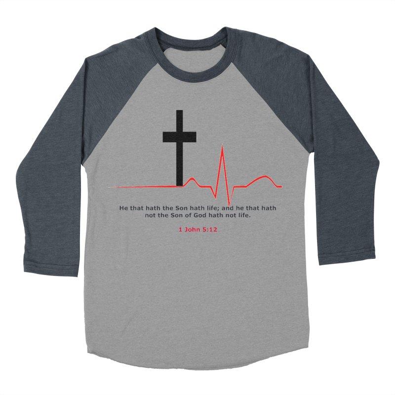 Hath Life Women's Baseball Triblend Longsleeve T-Shirt by theclearword's Artist Shop
