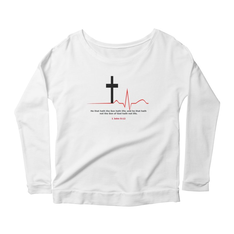 Hath Life Women's Scoop Neck Longsleeve T-Shirt by theclearword's Artist Shop