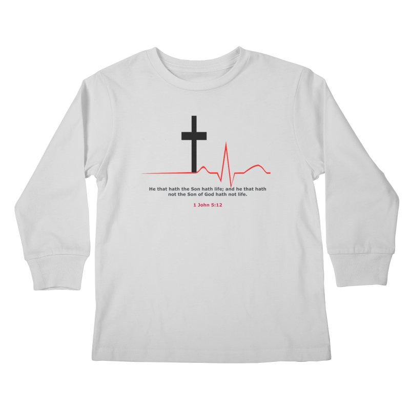 Hath Life Kids Longsleeve T-Shirt by theclearword's Artist Shop