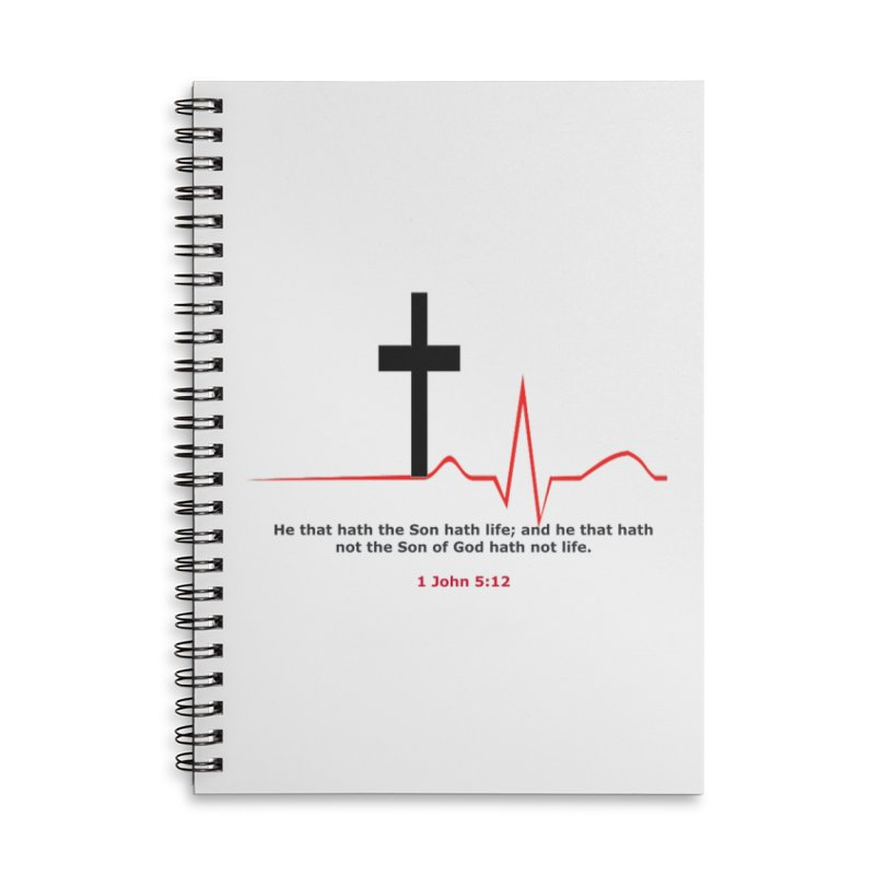 Hath Life Accessories Lined Spiral Notebook by theclearword's Artist Shop
