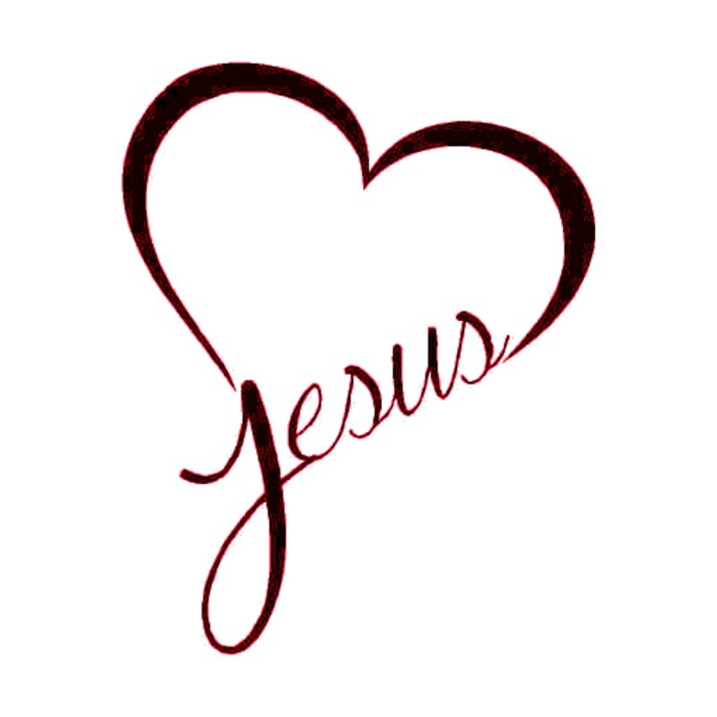 Heart Jesus Men's T-Shirt by theclearword's Artist Shop