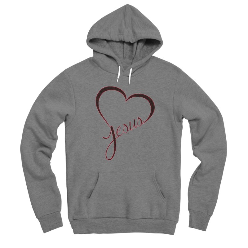 Heart Jesus Women's Pullover Hoody by theclearword's Artist Shop