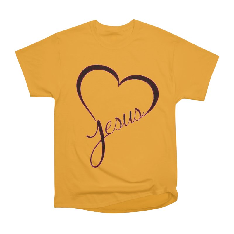 Heart Jesus Women's T-Shirt by theclearword's Artist Shop