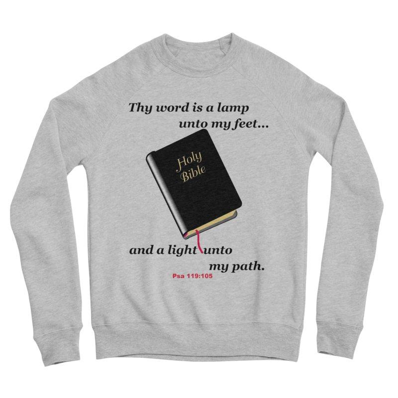 Thy Word Men's Sweatshirt by theclearword's Artist Shop