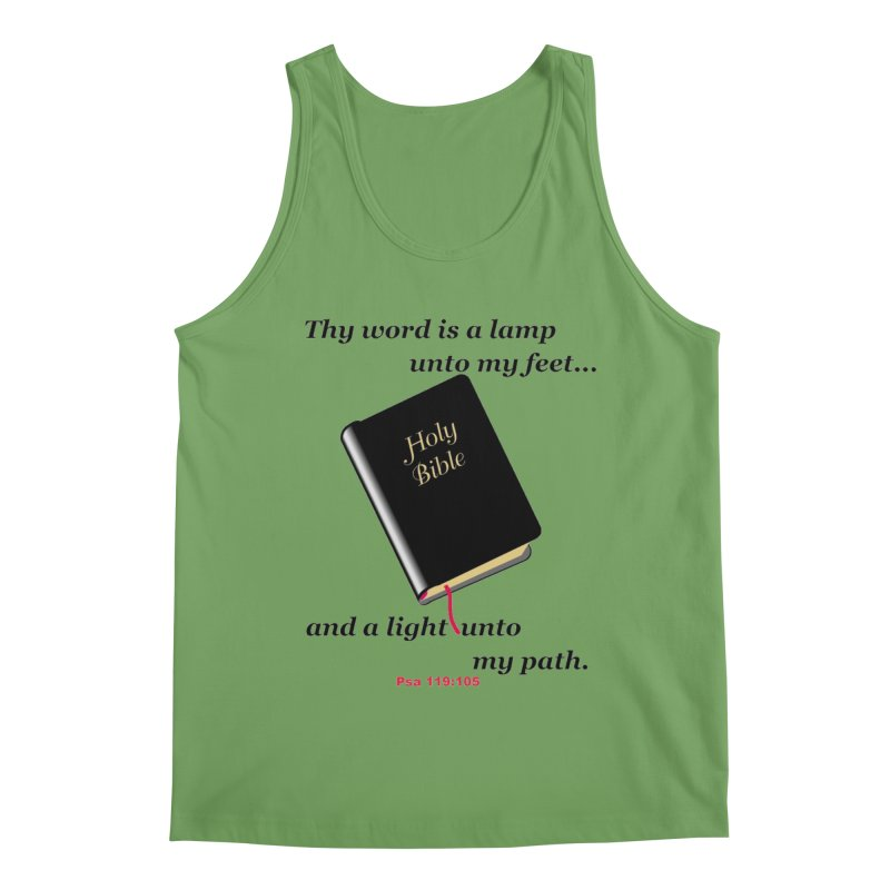 Thy Word Men's Tank by theclearword's Artist Shop