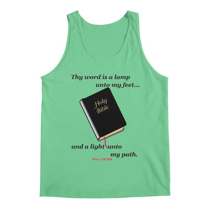 Thy Word Men's Regular Tank by theclearword's Artist Shop