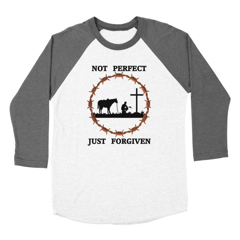 Cowboy, Not perfect Women's Longsleeve T-Shirt by theclearword's Artist Shop