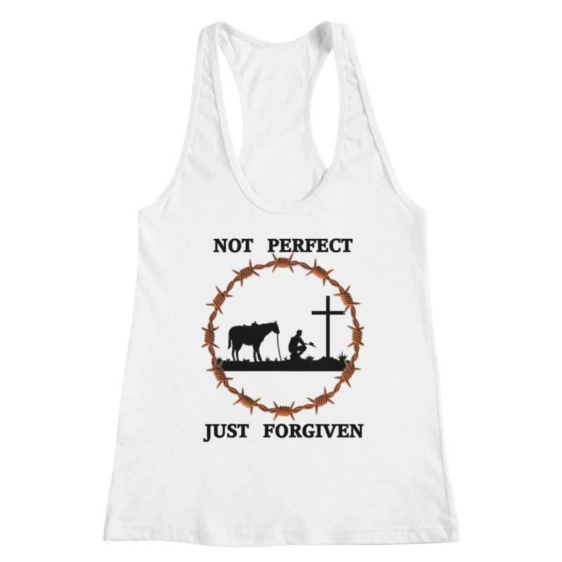 Cowboy, Not perfect Women's Tank by theclearword's Artist Shop