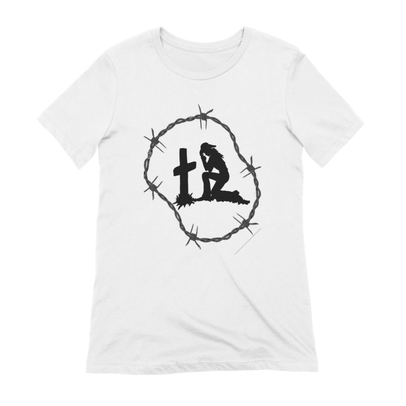 Cowgirl Cross Women's T-Shirt by theclearword's Artist Shop