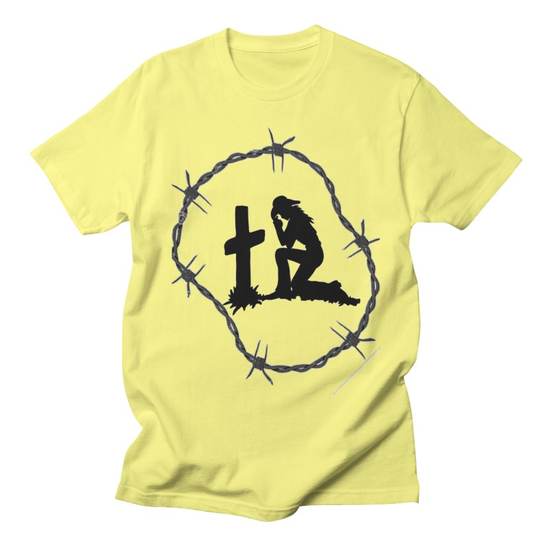 Cowgirl Cross Men's T-Shirt by theclearword's Artist Shop