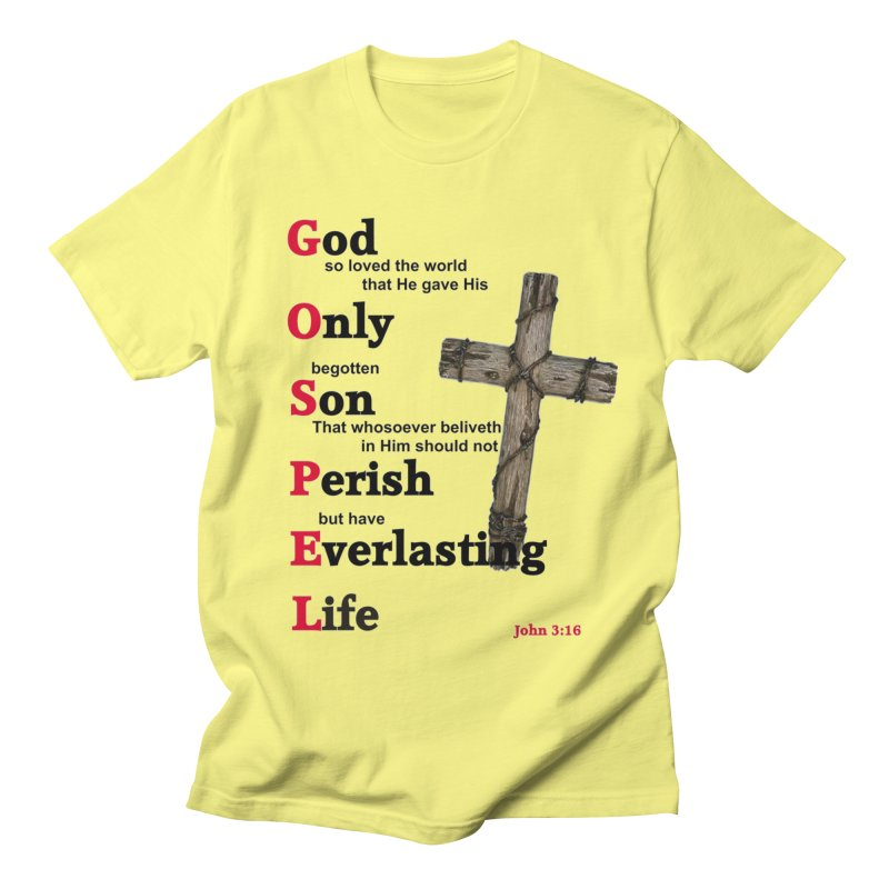 The Gospel Men's T-Shirt by theclearword's Artist Shop