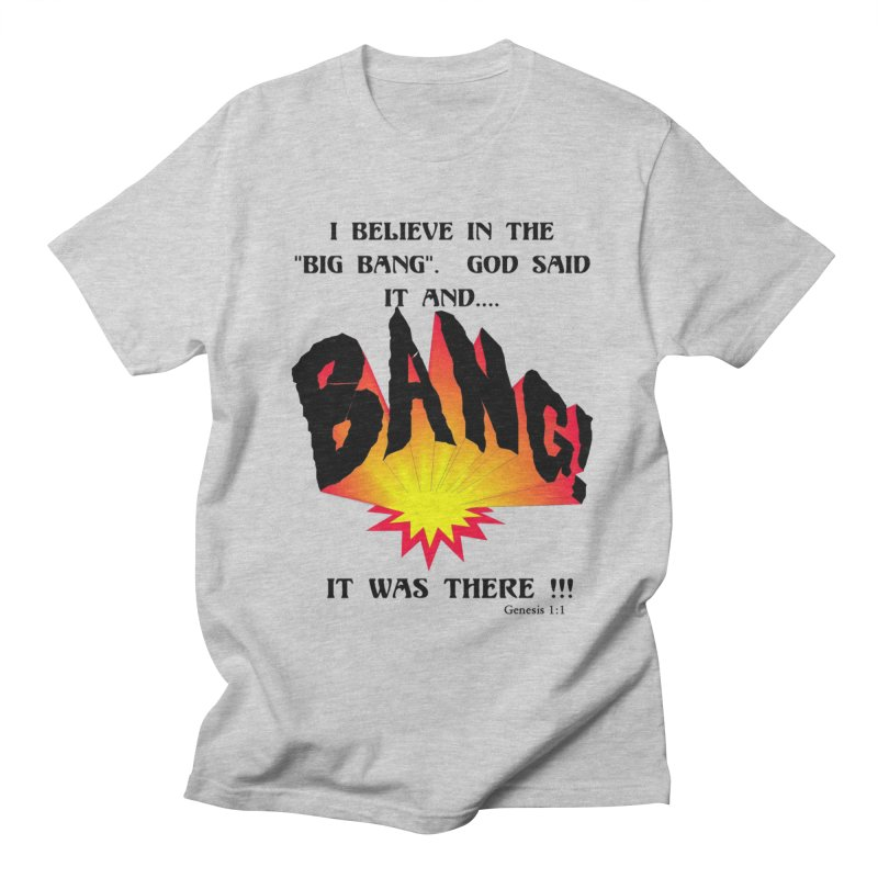 Big Bang Men's T-Shirt by theclearword's Artist Shop