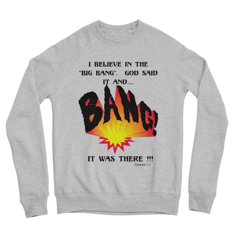 Big Bang Men's Sponge Fleece Sweatshirt by theclearword's Artist Shop