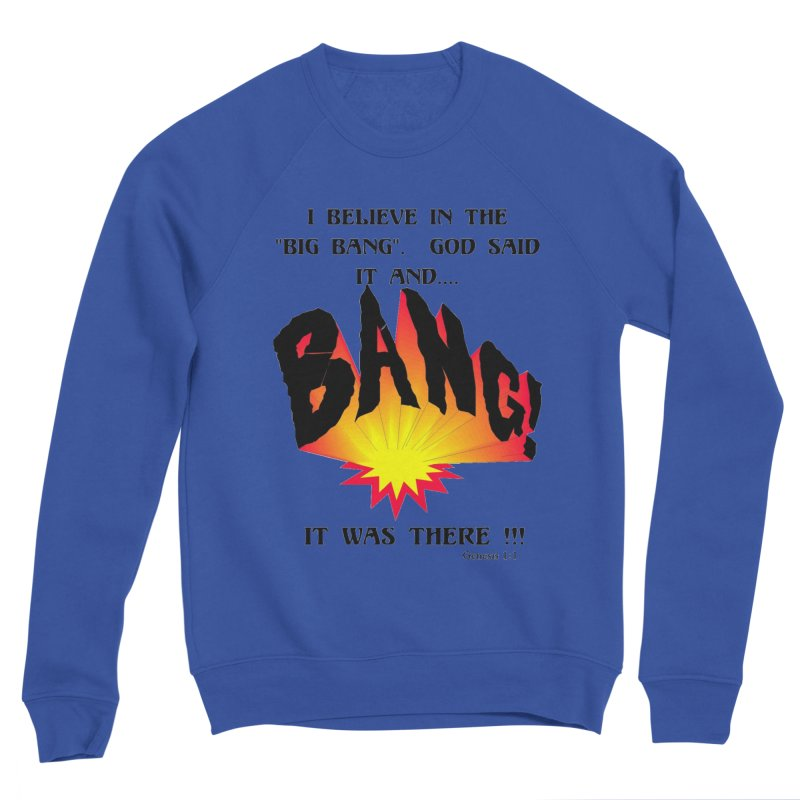 Big Bang Men's Sweatshirt by theclearword's Artist Shop