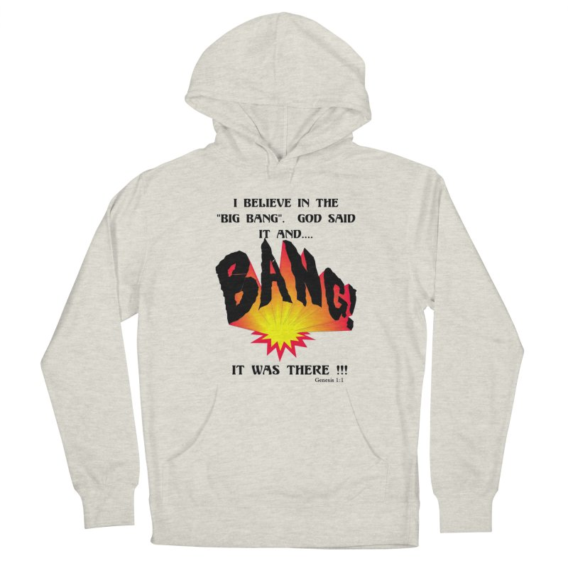 Big Bang Men's Pullover Hoody by theclearword's Artist Shop