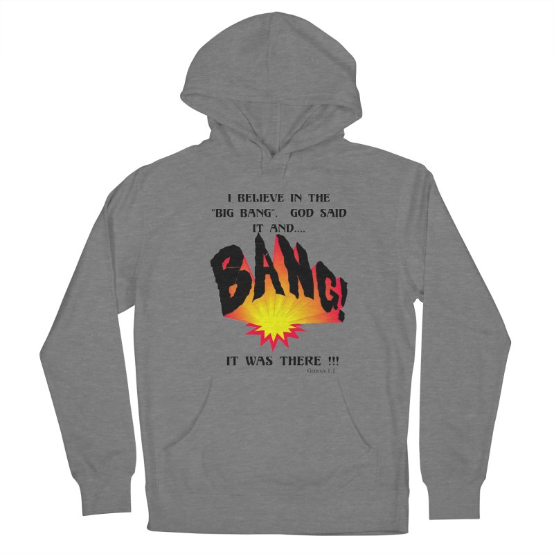 Big Bang Women's Pullover Hoody by theclearword's Artist Shop