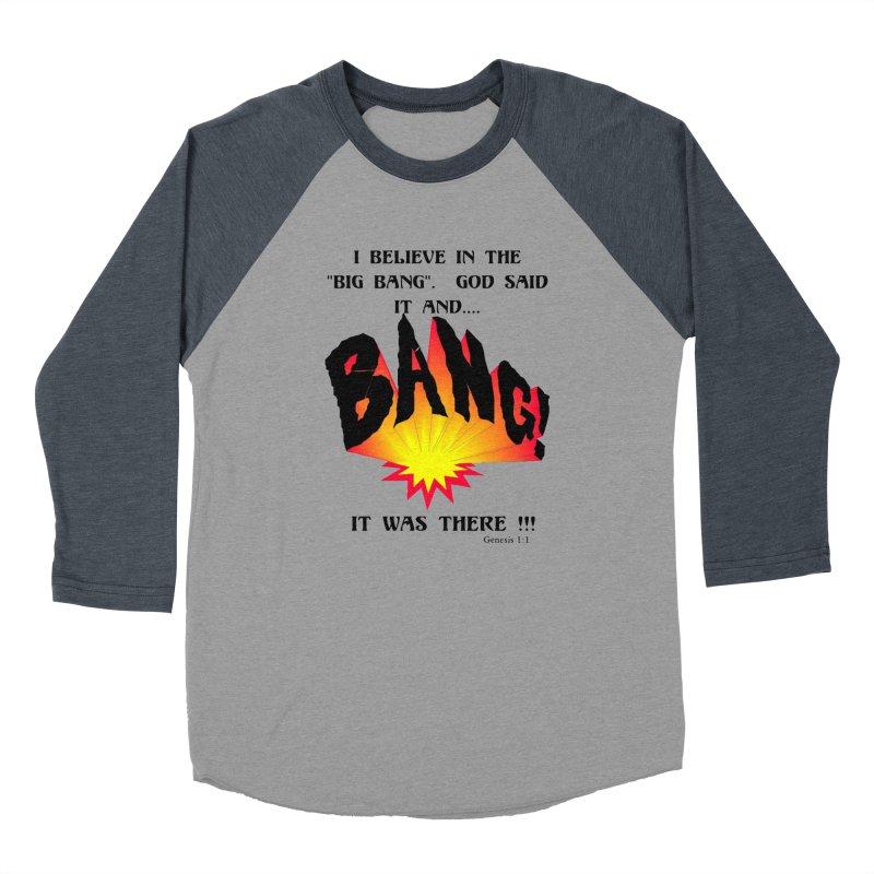Big Bang Men's Longsleeve T-Shirt by theclearword's Artist Shop