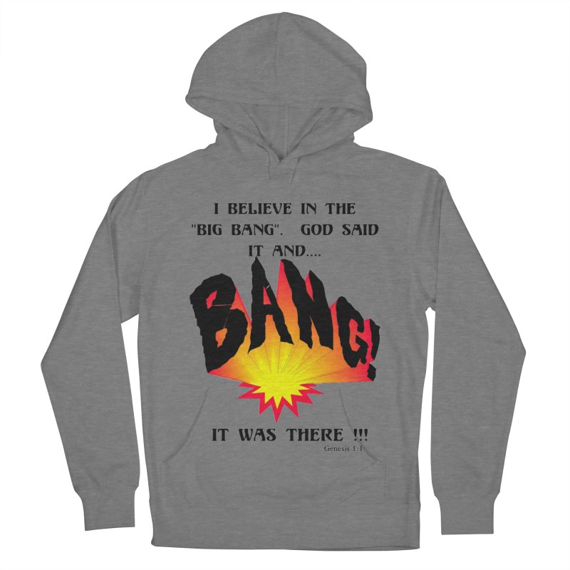 Big Bang Women's French Terry Pullover Hoody by theclearword's Artist Shop