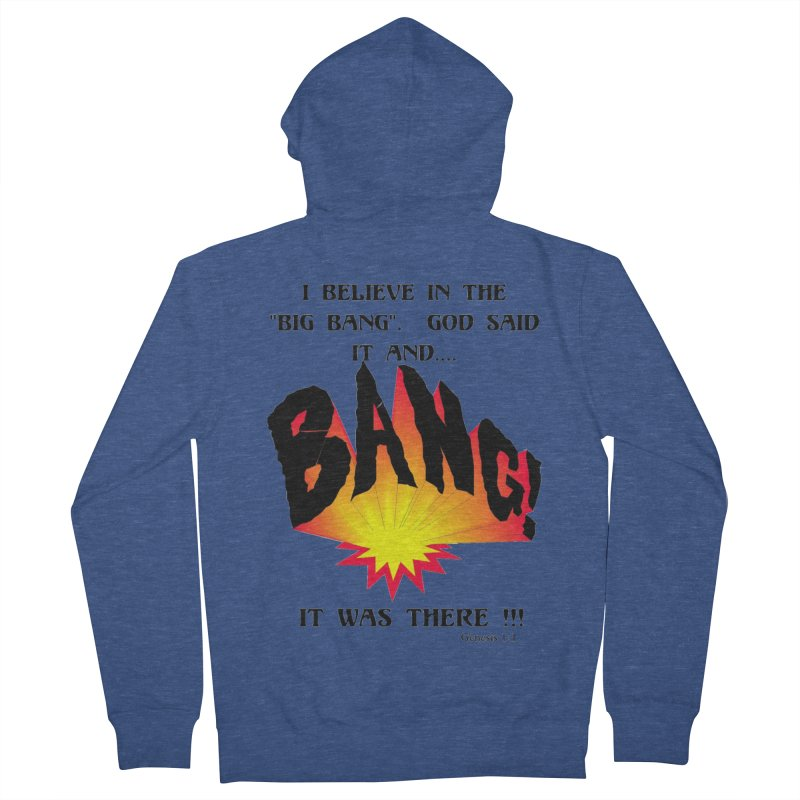 Big Bang Men's Zip-Up Hoody by theclearword's Artist Shop