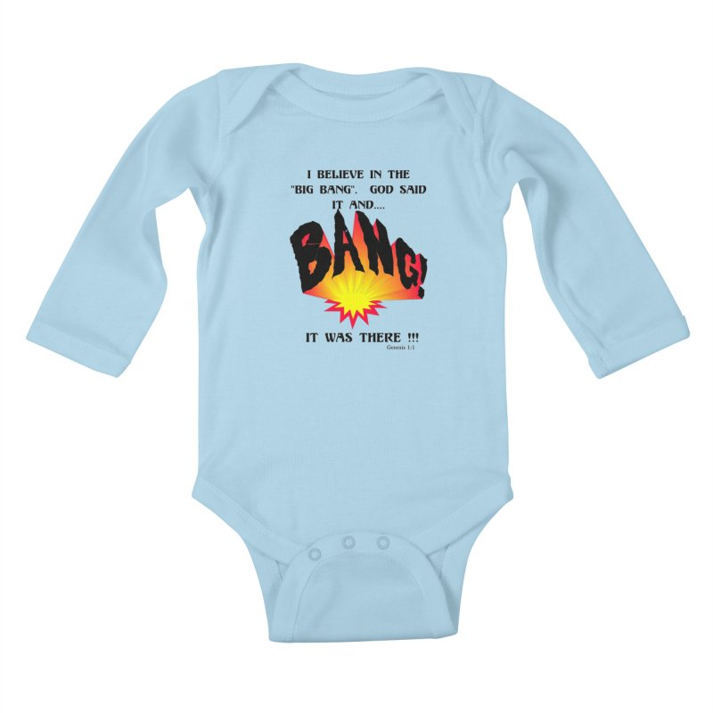 Big Bang Kids Baby Longsleeve Bodysuit by theclearword's Artist Shop