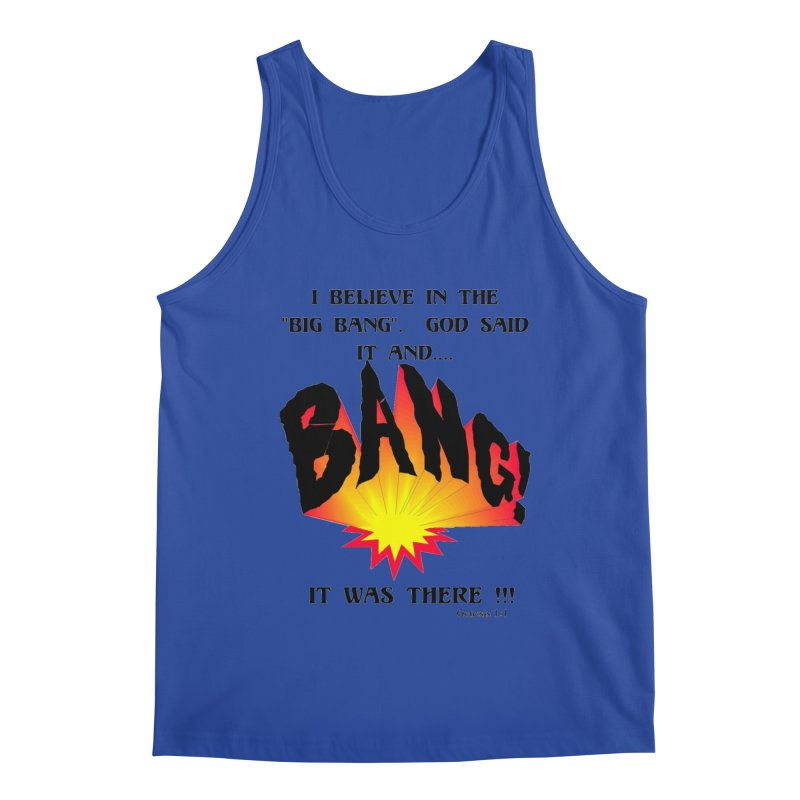 Big Bang Men's Regular Tank by theclearword's Artist Shop