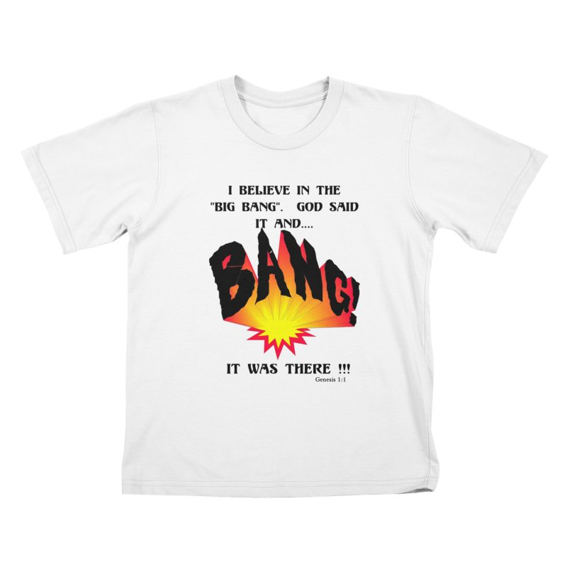 Big Bang Kids T-Shirt by theclearword's Artist Shop