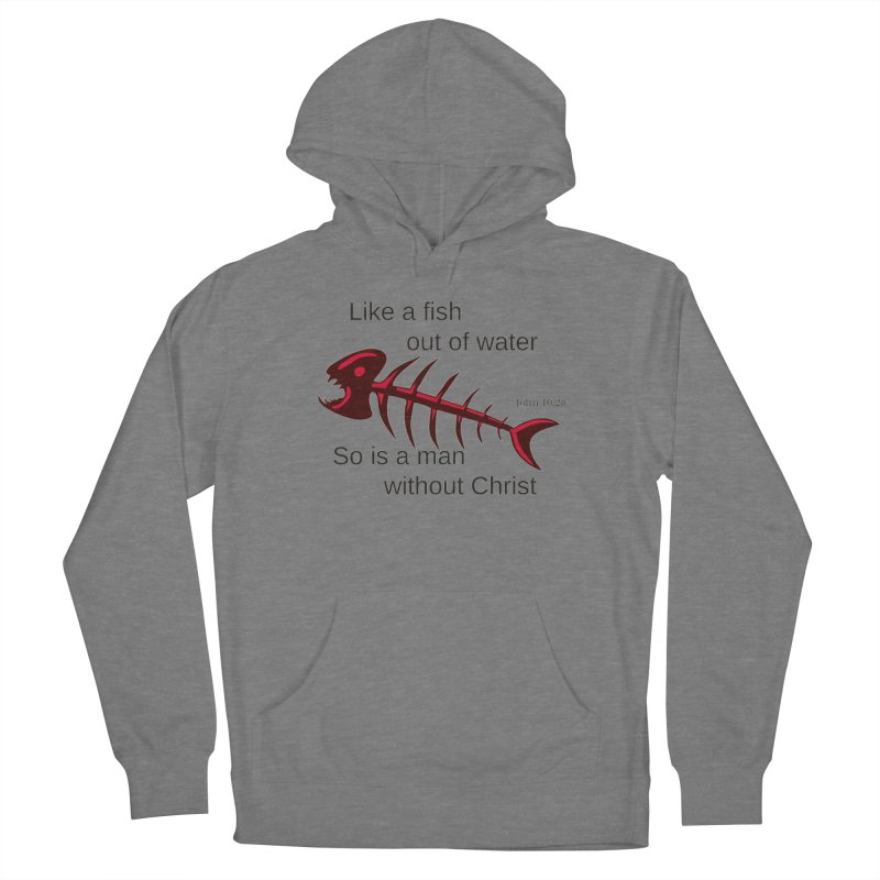 Fish Out of Water Women's Pullover Hoody by theclearword's Artist Shop