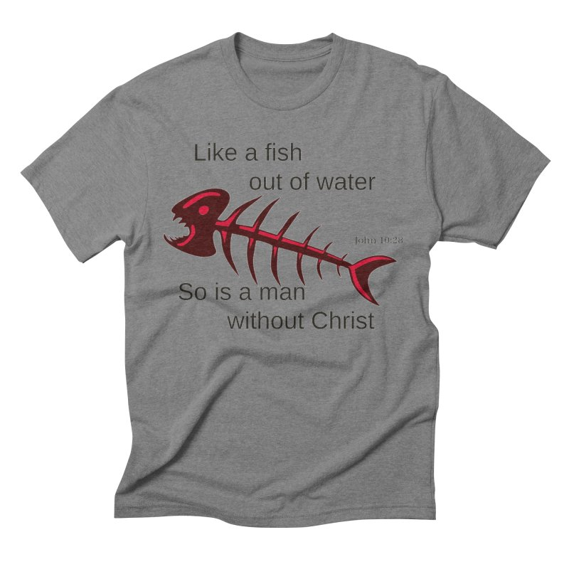 Fish Out of Water Men's Triblend T-Shirt by theclearword's Artist Shop