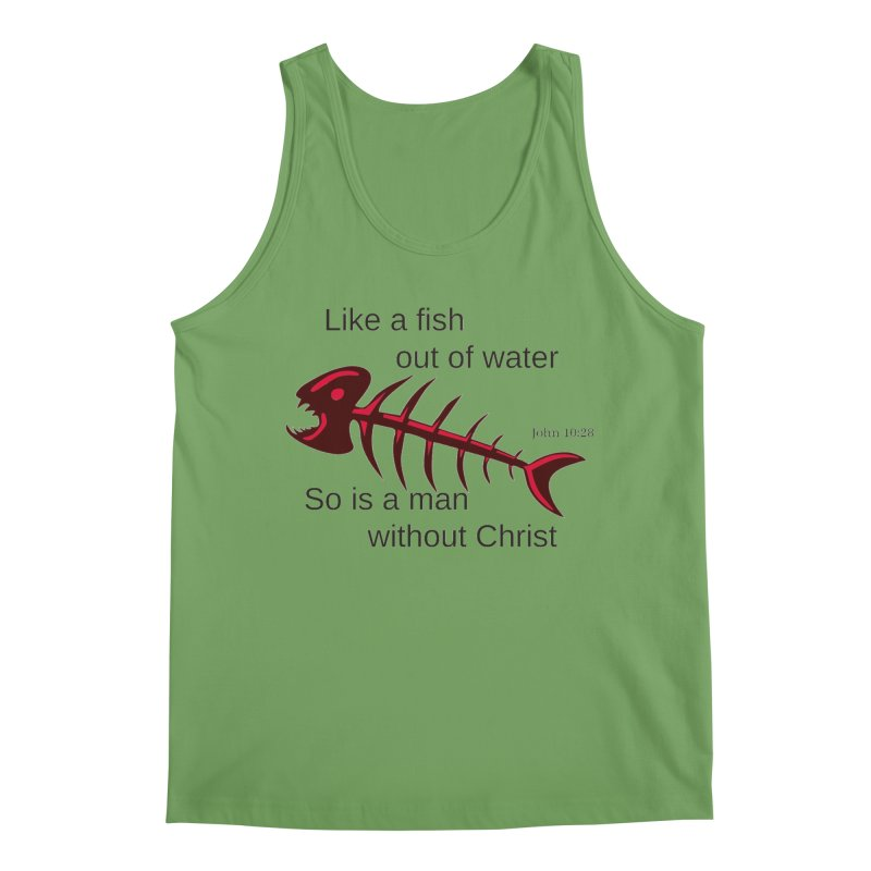 Fish Out of Water Men's Tank by theclearword's Artist Shop